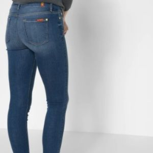 7 For All Mankind Jeans - B(air) High Waist Ankle Skinny With Released Side